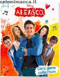 Dettagli dell 39 album di figurine alex co card game for Karaoke alex e co