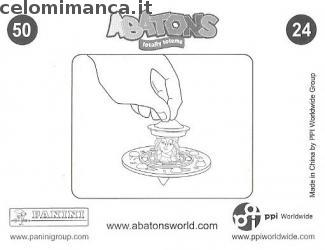 ABATONS HUMANS: Card Back n. 24FIG Pranglsee