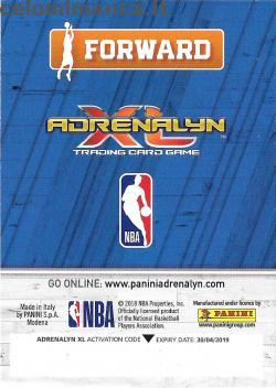 NBA 2018/2019 - Sticker & Card Collection: Retro Figurina n. C87 Bojan Bogdanovic