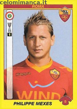 Calciatori 2009 - 2010: Card Front n. 390 Philippe Mexes