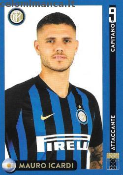 Inter sticker collection 2018 - 2019: Card Front n. 30 Mauro Icardi