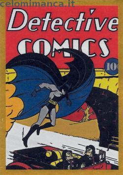 BATMAN Anniversary 80 years: Card Front n. 15 -