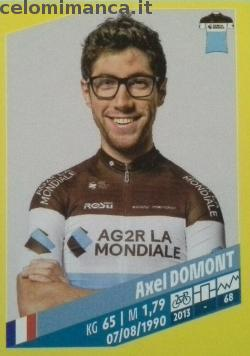 Tour de France: Card Front n. 18 Alex Domont