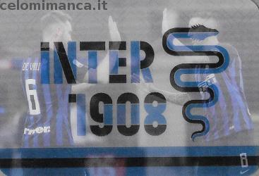 Inter sticker collection 2018 - 2019: Card Front n. 206 -