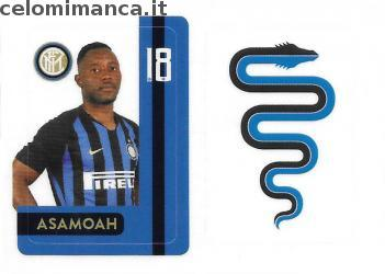 Inter sticker collection 2018 - 2019: Card Front n. INTER18 -