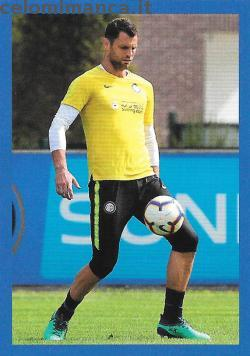 Inter sticker collection 2018 - 2019: Card Front n. 64 Daniele Padelli