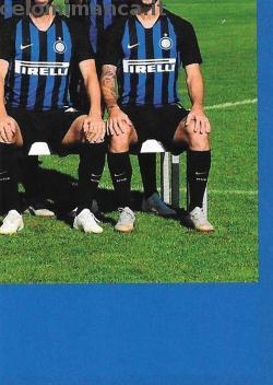 Inter sticker collection 2018 - 2019: Card Front n. 9 -