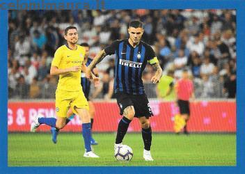 Inter sticker collection 2018 - 2019: Card Front n. 152 Mauro Icardi