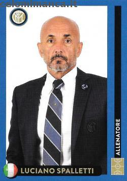 Inter sticker collection 2018 - 2019: Card Front n. 10 Luciano Spalletti