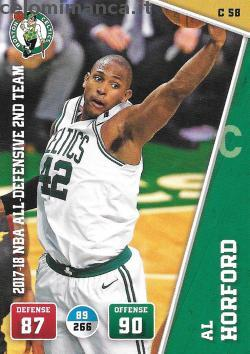 NBA 2018/2019 - Sticker & Card Collection: Fronte Figurina n. C58 Al Horford
