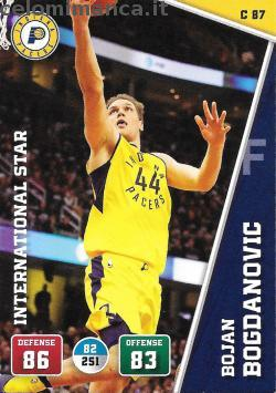 NBA 2018/2019 - Sticker & Card Collection: Fronte Figurina n. C87 Bojan Bogdanovic