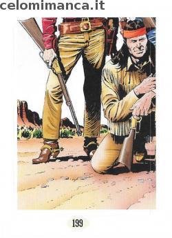 TEX - Ritratti dal West - terzo volume: Card Front n. 199 -