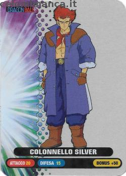 Dragonball Collection ed.2019: Card Front n. 50 Colonnello Silver