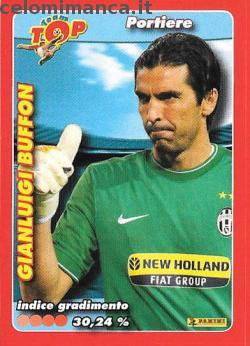 Calciatori 2009 - 2010: Card Front n. X1 Gianluigi Buffon