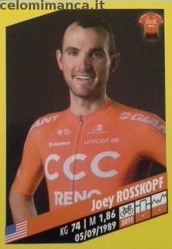 Tour de France: Card Front n. 83 Joey Rosskopf