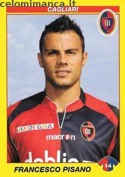 Calciatori 2009 - 2010: Card Front n. 79 Francesco Pisano