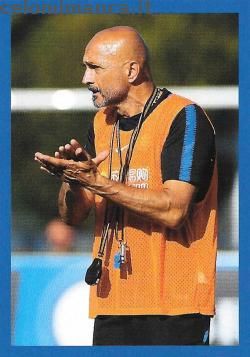 Inter sticker collection 2018 - 2019: Card Front n. 51 Luciano Spalletti