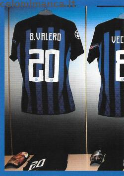 Inter sticker collection 2018 - 2019: Card Front n. 43 -