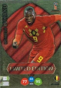 FIFA World Cup 2018 Russia Adrenalyn XL: Card Front n. LE-RLU Romelu Lukaku