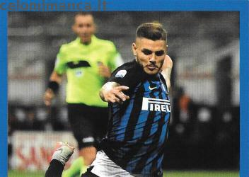 Inter sticker collection 2018 - 2019: Card Front n. 150 Mauro Icardi