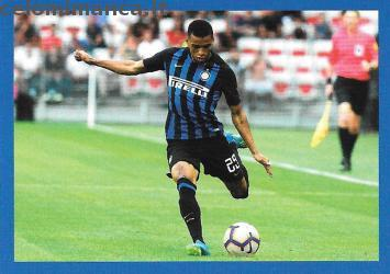 Inter sticker collection 2018 - 2019: Card Front n. 101 Henrique Dalbert