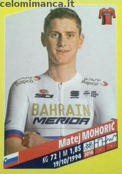 Tour de France: Card Front n. 51 Matej Mohoric
