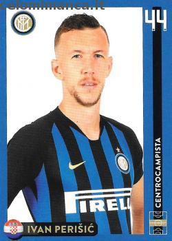 Inter sticker collection 2018 - 2019: Card Front n. 28 Ivan Perisic