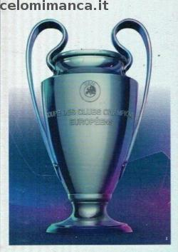 Match Attax UEFA Champions League 2018-2019 Road to Madrid 19: Card Front n. 1 UCL Trophy