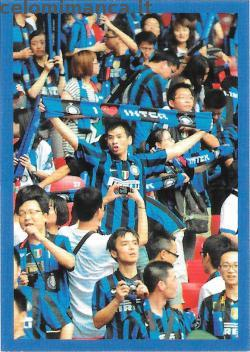 Inter sticker collection 2018 - 2019: Card Front n. 197 -