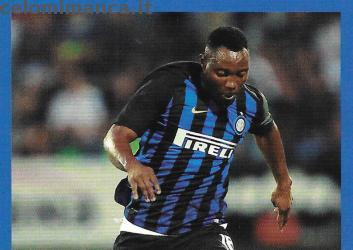 Inter sticker collection 2018 - 2019: Card Front n. 91 Kwadwo Asamoah