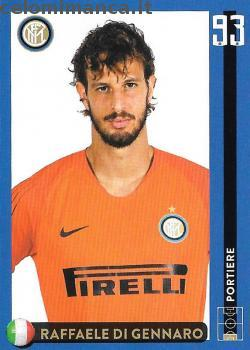 Inter sticker collection 2018 - 2019: Card Front n. 14 Raffaele Di Gennaro