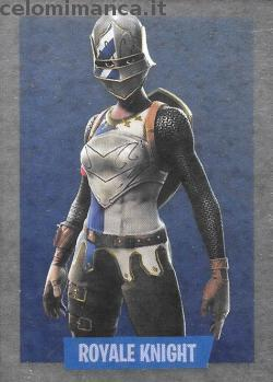 Fortnite Ready to Jump!: Card Front n. 089 Cavaliere Reale