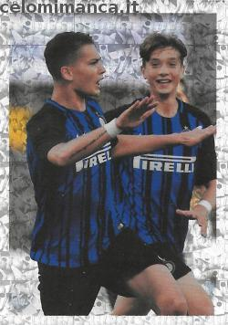 Inter sticker collection 2018 - 2019: Card Front n. 185 -