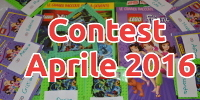 Contest Giveaway Aprile 2016